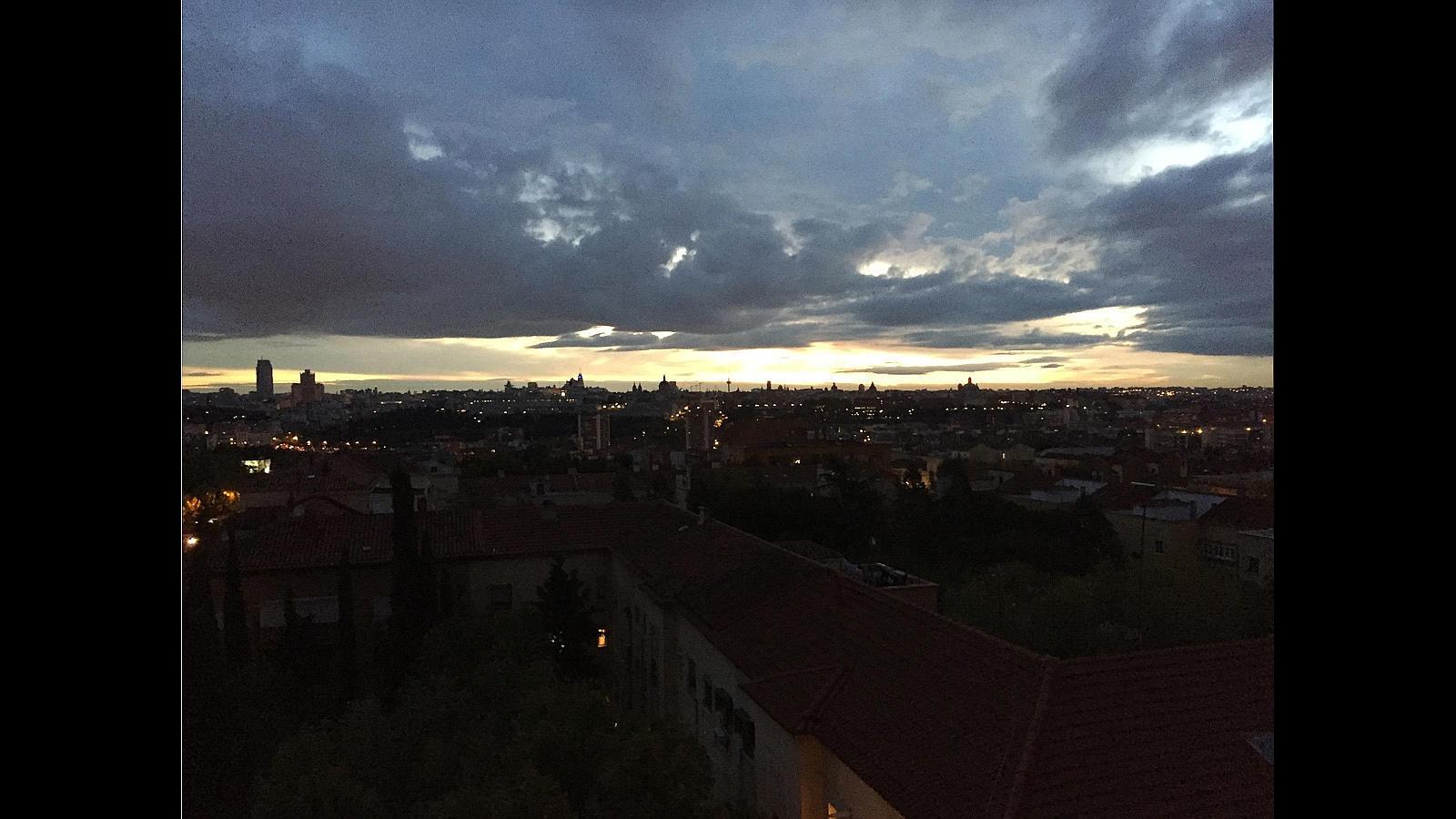 #beautifulsky: Así despierta Madrid