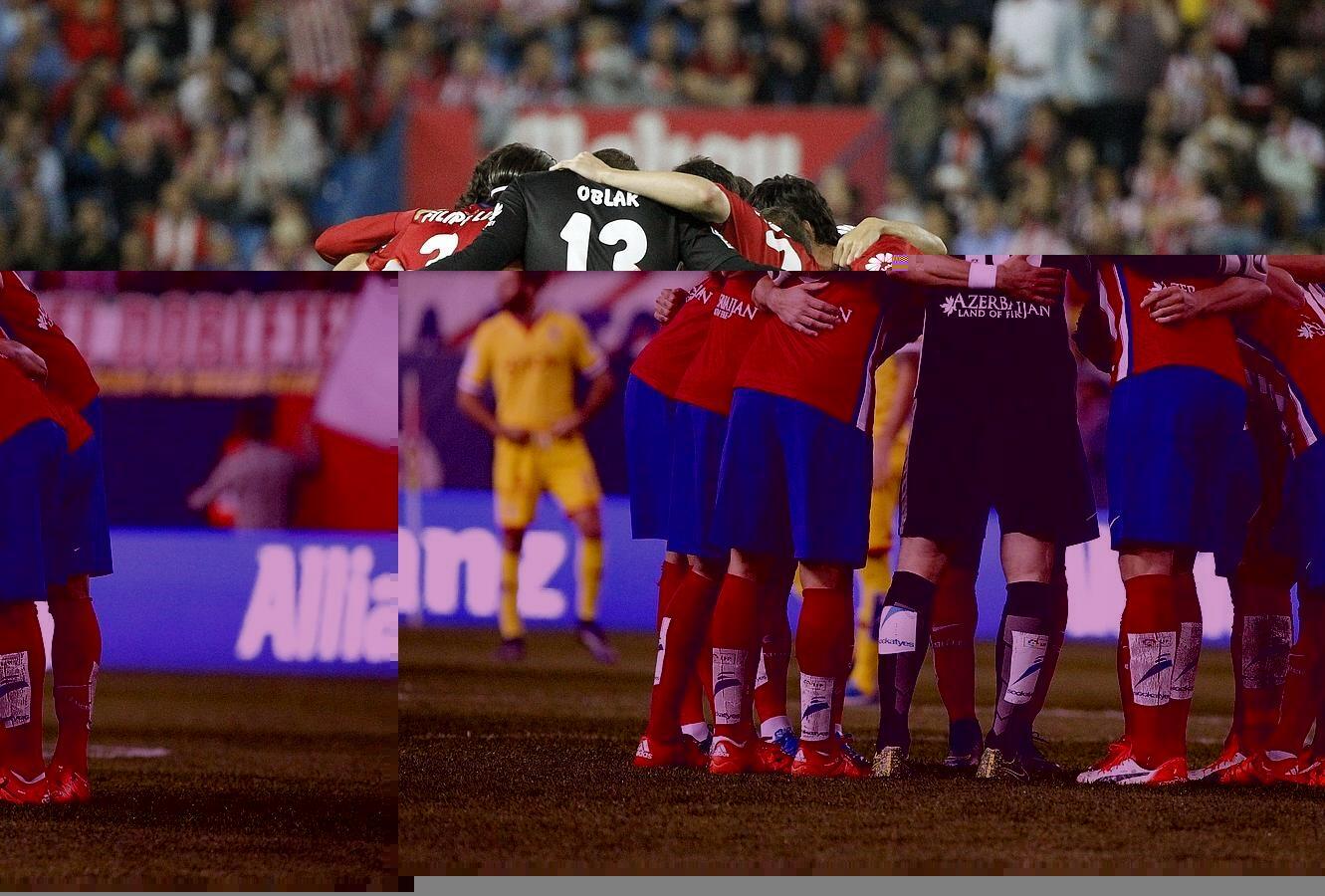 Atlético-Sporting, en imágenes