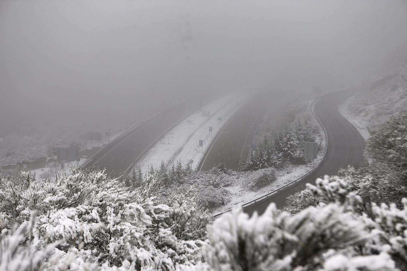 Las primeras nevadas del invierno