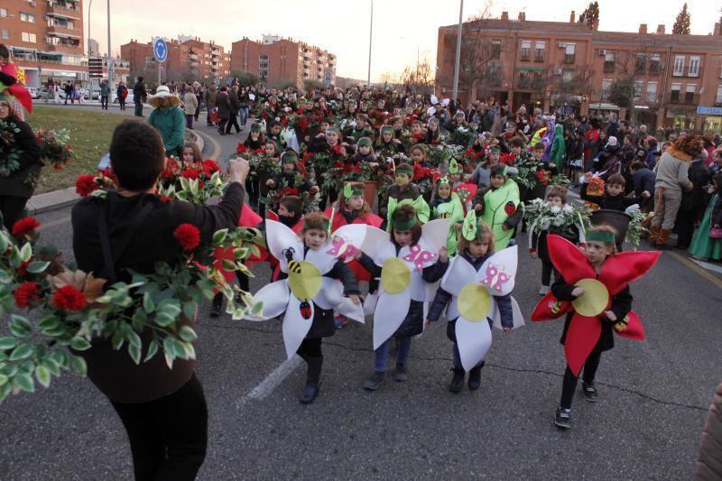 Los niños, protagonistas del Carnaval en los barrios de Toledo