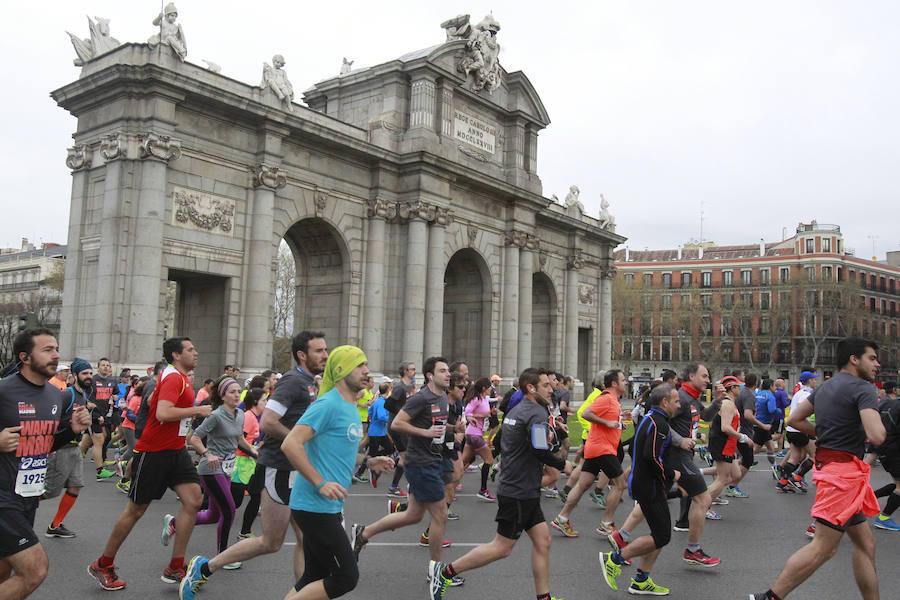 Lo mejor de la media maratón de Madrid, en imágenes