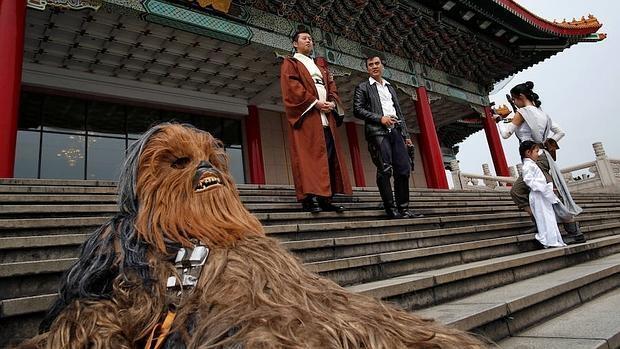 En imágenes: día mundial de Star Wars