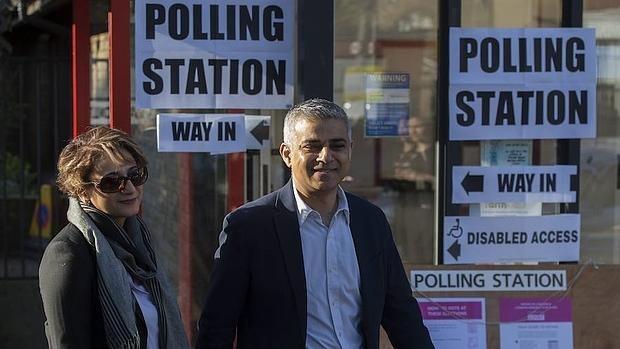 La jornada electoral de Reino Unido, en imágenes