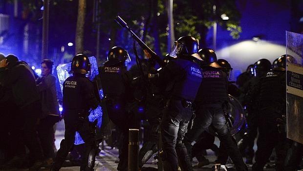Nueva noche de disturbios en Barcelona