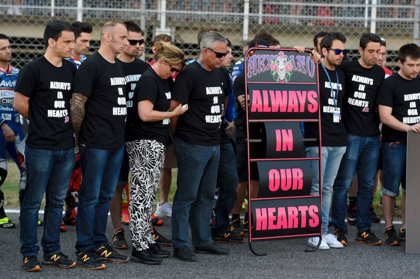 El homenaje a Luis Salom en el Gran Premio de Cataluña, en imágenes