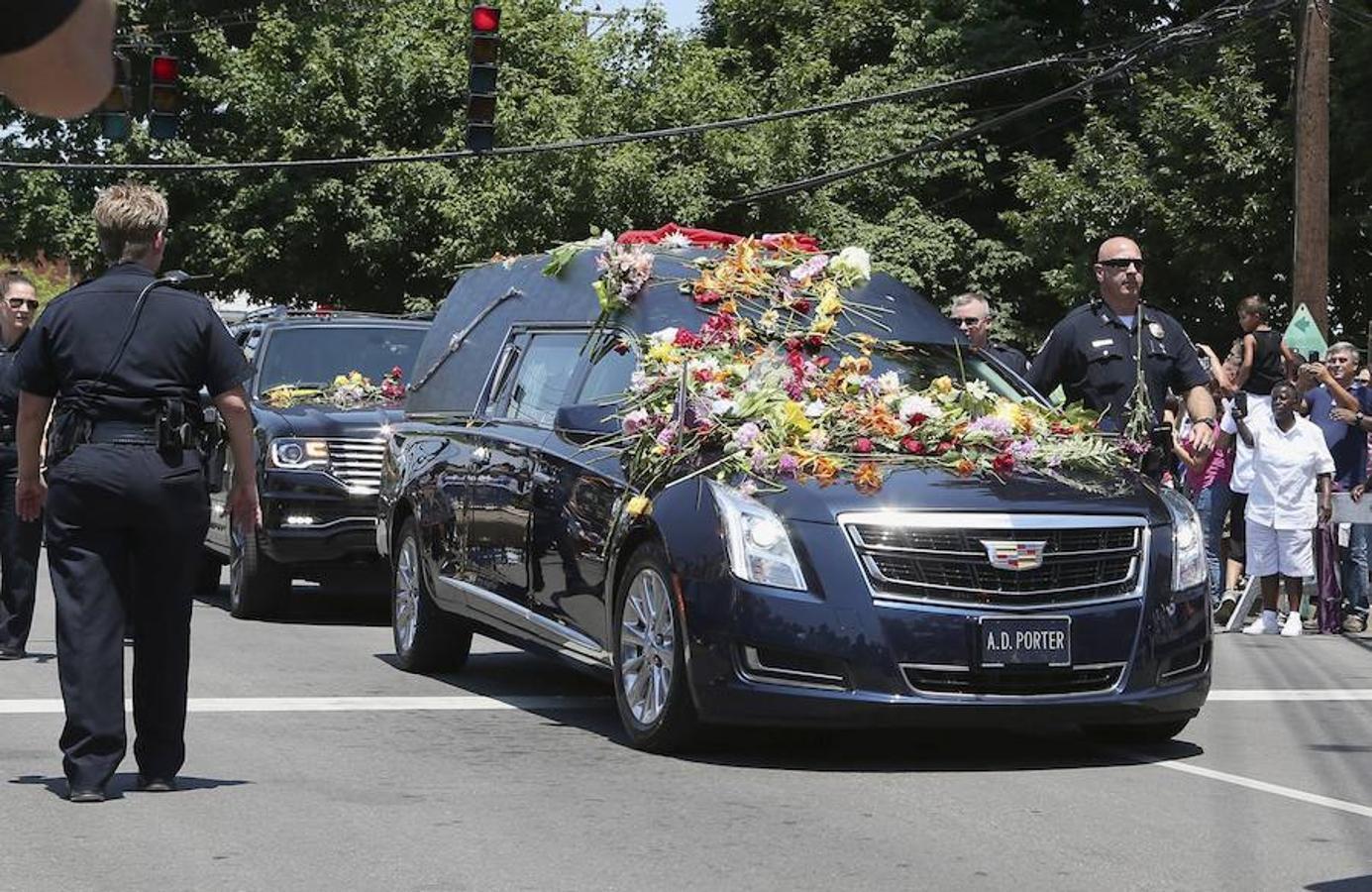 El funeral de Mohamed Alí, en imágenes