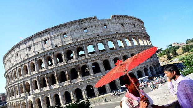 La restauración del Coliseo de Roma, en imágenes