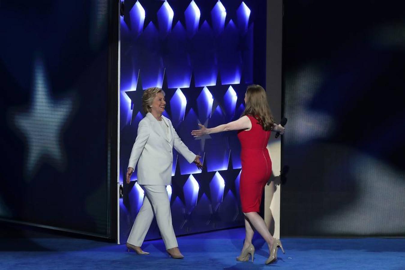 Las imágenes que nos deja la cuarta jornada de la convención demócrata