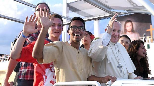 En imágenes: el Papa Francisco durante la vigilia de oración de la Jornada Mundial de la Juventud