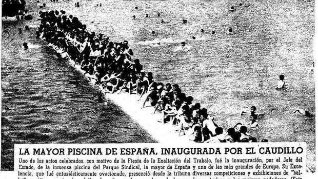60 años de la mayor «playa» de Madrid