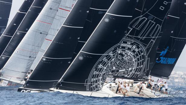 Galería: 2ª jornada del Mundial TP52 celebrado en aguas de Mahón