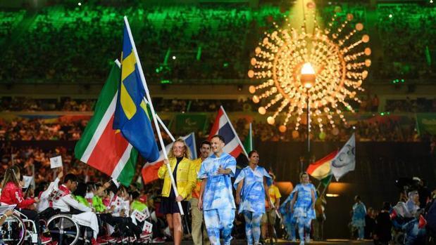 Así fue la ceremonia de clausura de los Juegos Paralímpicos de Río