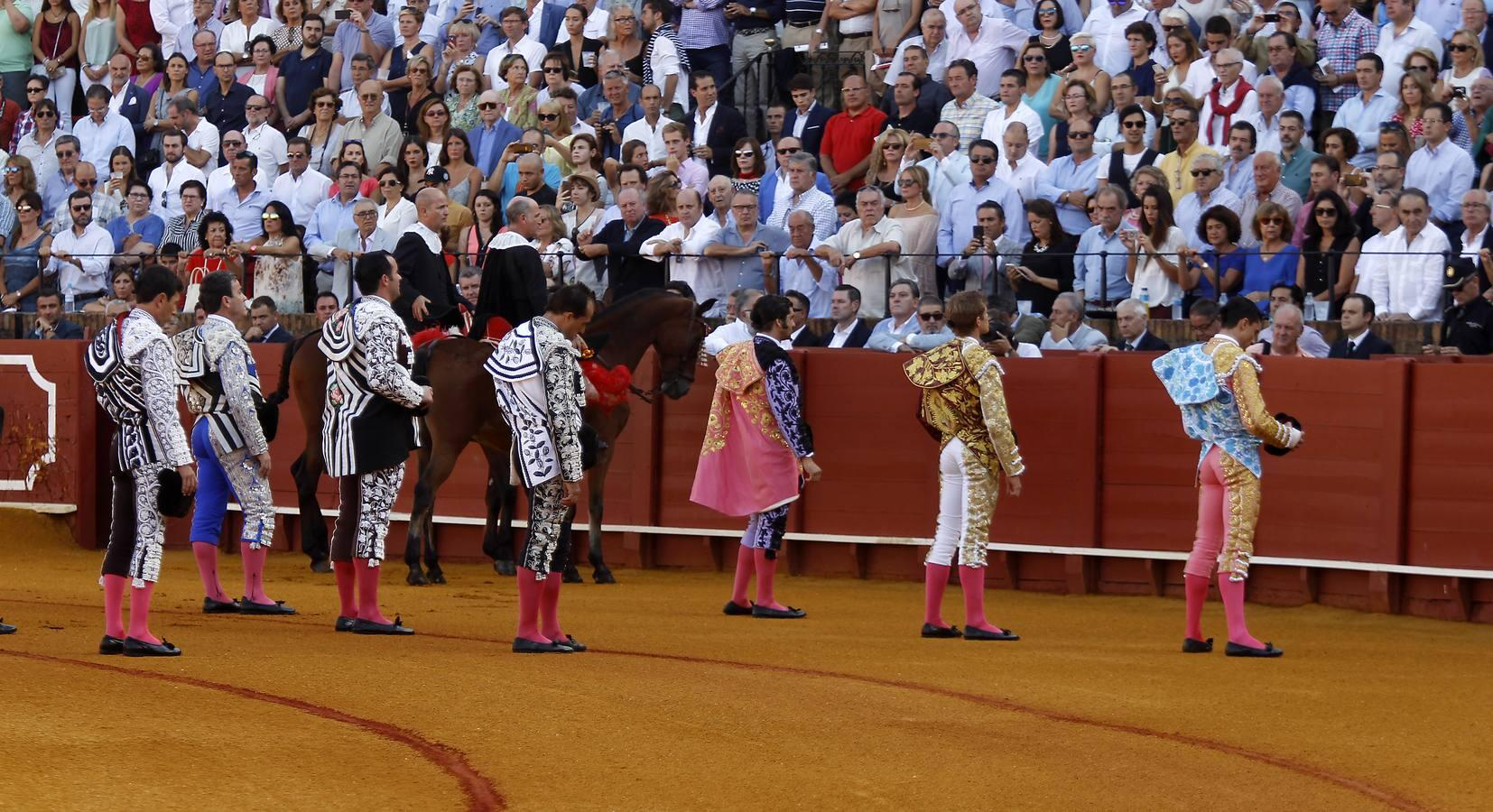 La primera corrida de la Feria de San Miguel 2016, en imágenes