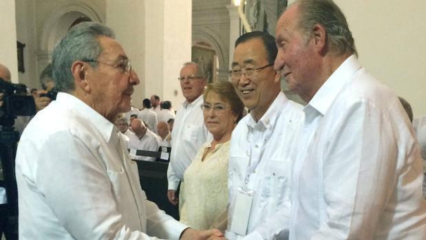 La ceremonia de la firma del acuerdo de Paz de Colombia