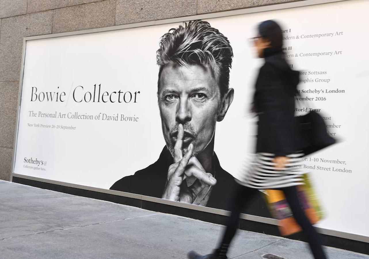 Así es la colección de arte de Bowie