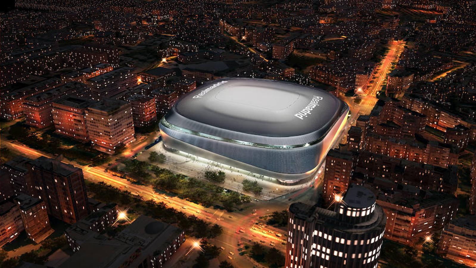 En imágenes: Descubre el nuevo Santiago Bernabéu