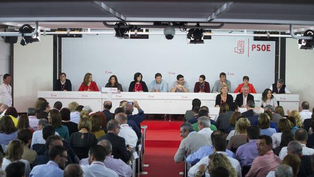 El Comité Federal más decisivo del PSOE, en imágenes