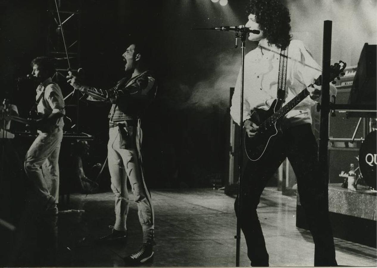 El grupo Queen en una actuación