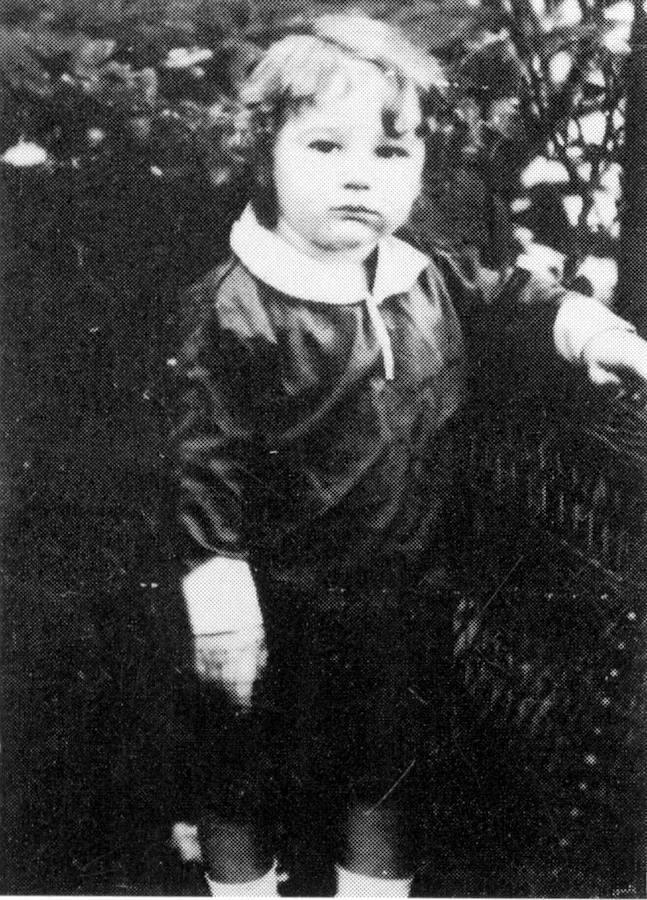 Fidel Castro, a los tres años (1929)