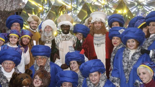 La llegada de los Reyes Magos a Madrid, en imágenes