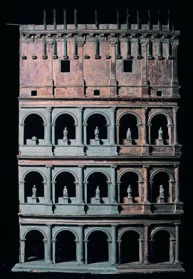 Modelo del anfiteatro Flavio