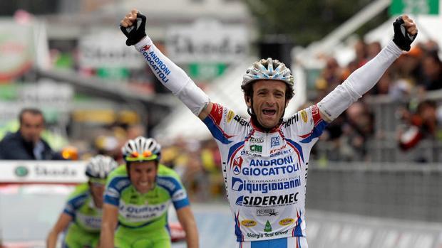 Michele Scarponi, el ciclista de la eterna sonrisa