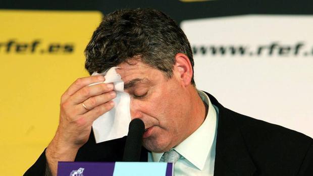 Los 30 años de Ángel María Villar al frente de la Federación de Fútbol, en imágenes