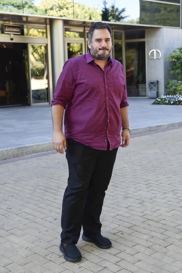 Carolo Ruiz, el hijo de uno de los pilares de nuestro cine. Ha mostrado su agradecimiento por las muestras de cariño que está recibiendo