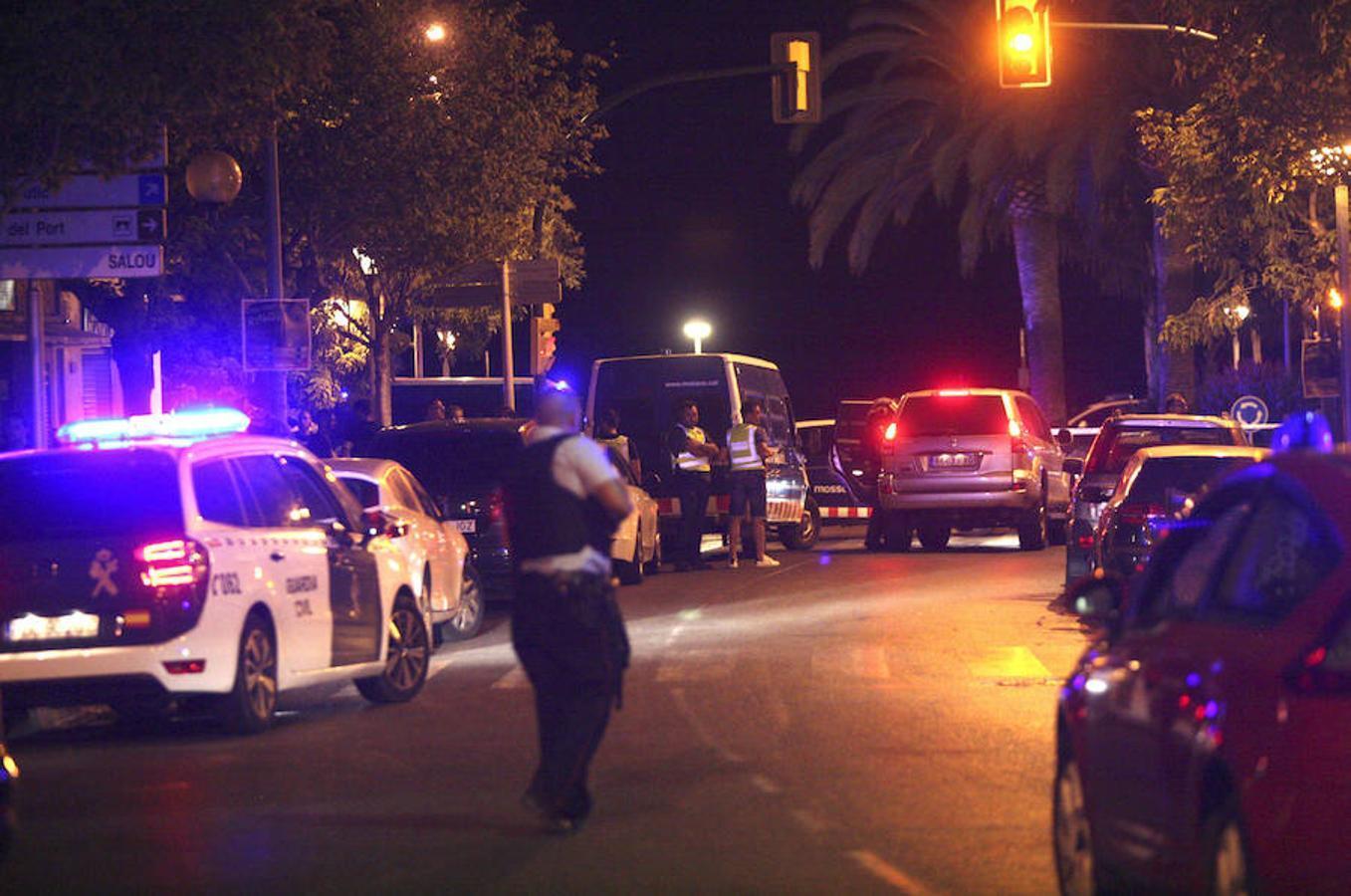 La policía investiga la zona del atentado