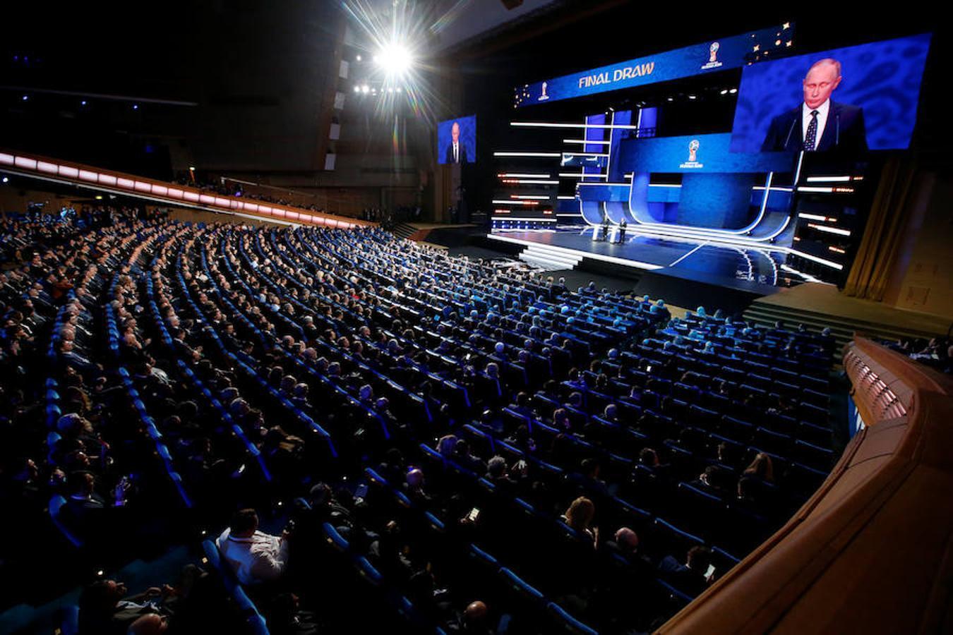 Rusia reservó para la gala un escenario de lujo