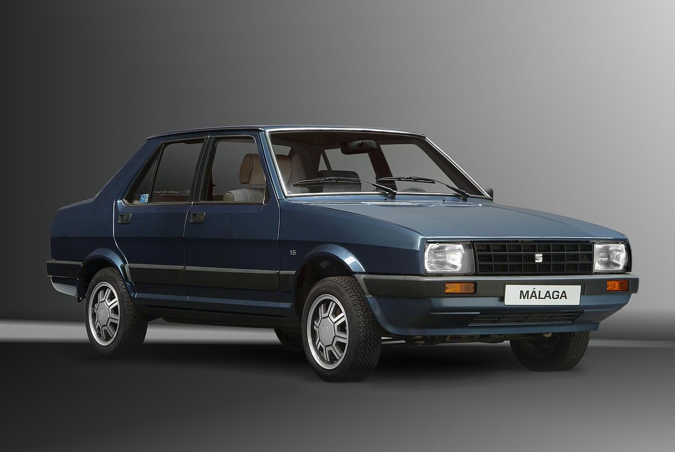 Entre 1985 y 1991 SEAT fabricó el Málaga, una versión con 4 puertas del Ibiza. Fueron 232.000 unidades, a un precio básico de 1.019.000 pesetas