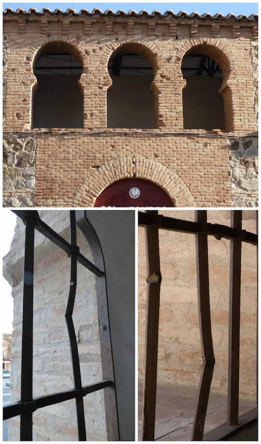 Impactos de fusilería en la fachada y rejas de la Plaza de Toros
