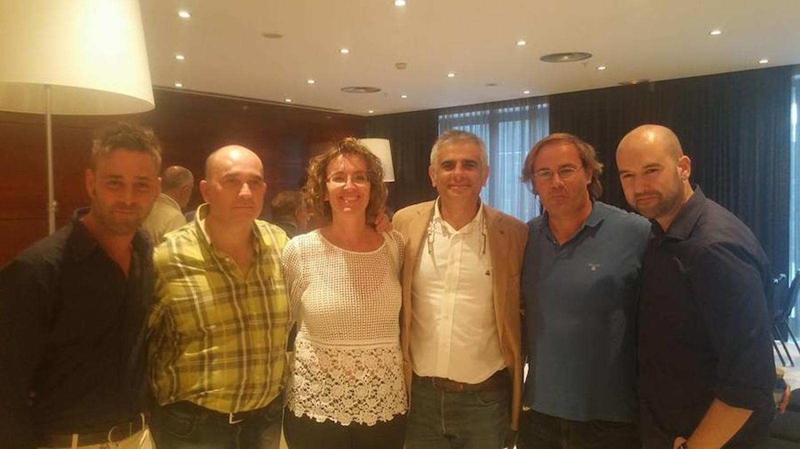 Landeira comparte fotografía con Carlos Carrizosa, coordinador de los comités autonómicos de Ciudadanos