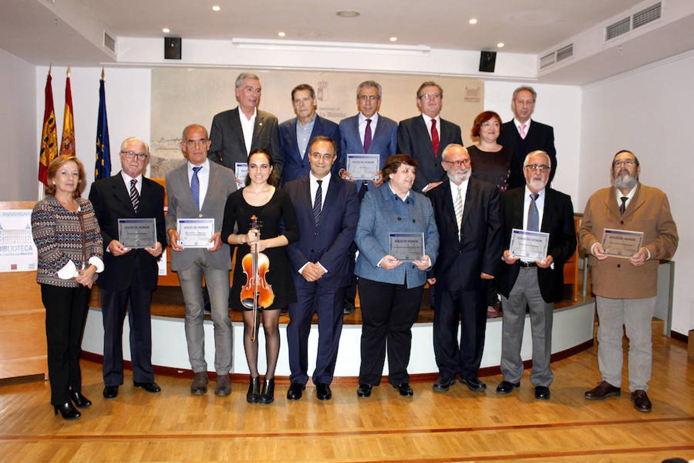 Los nuevos socios de honor de la Biblioteca de Castilla-La Mancha