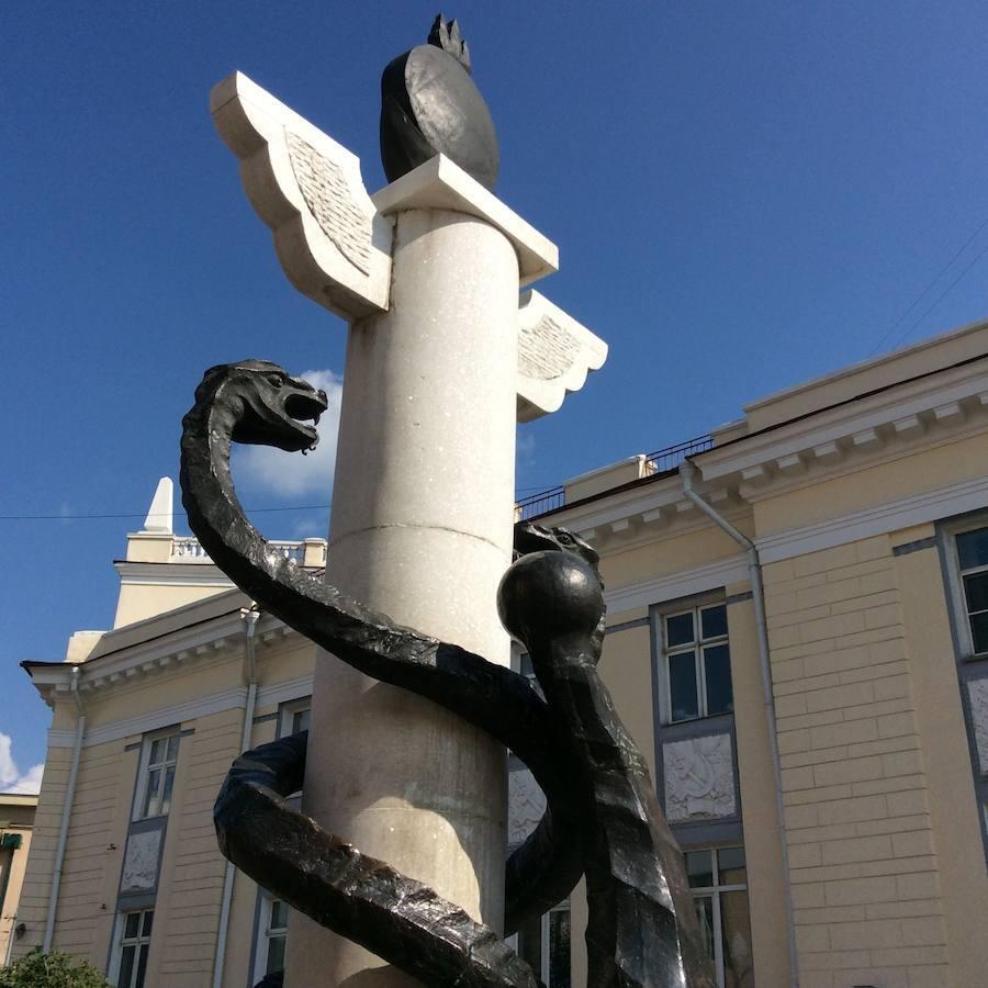 En la ciudad rusa, Ulán-Udé, se pueden ver numerosos símbolos de la época soviética
