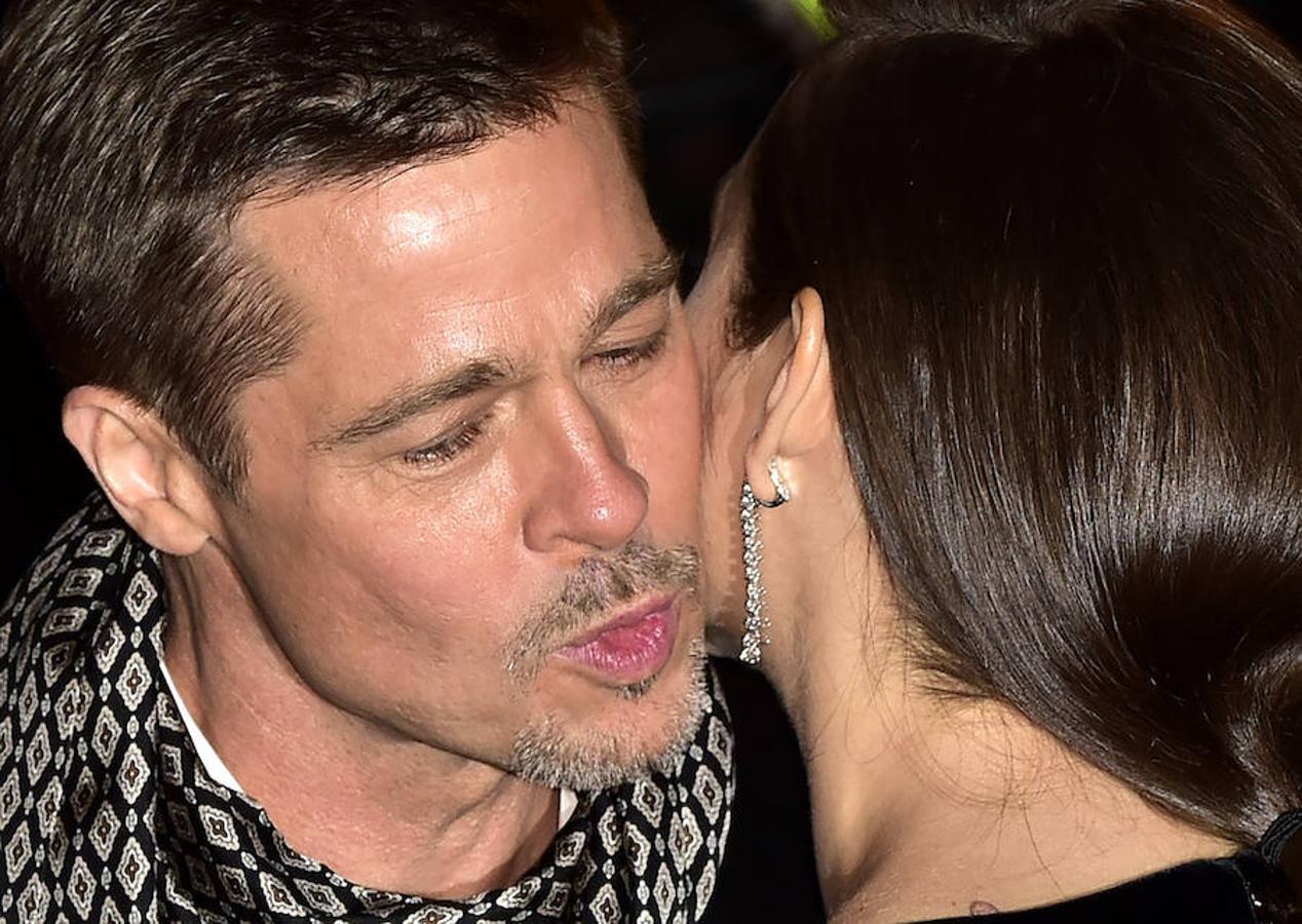El beso de Brad Pitt y Marion Cotillard fue de lo más comentado