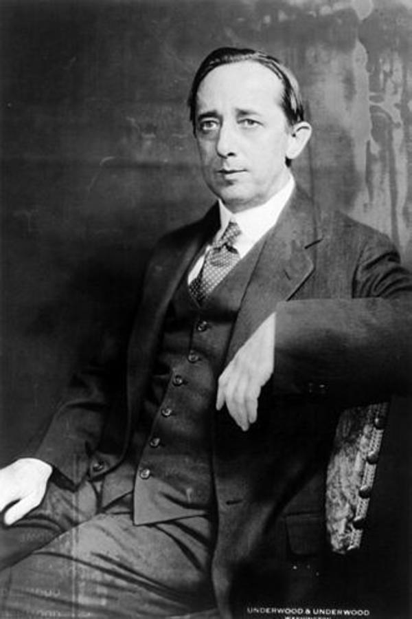 Claude G. Bowers. Embajador de Estados Unidos en España entre 1933 y 1939