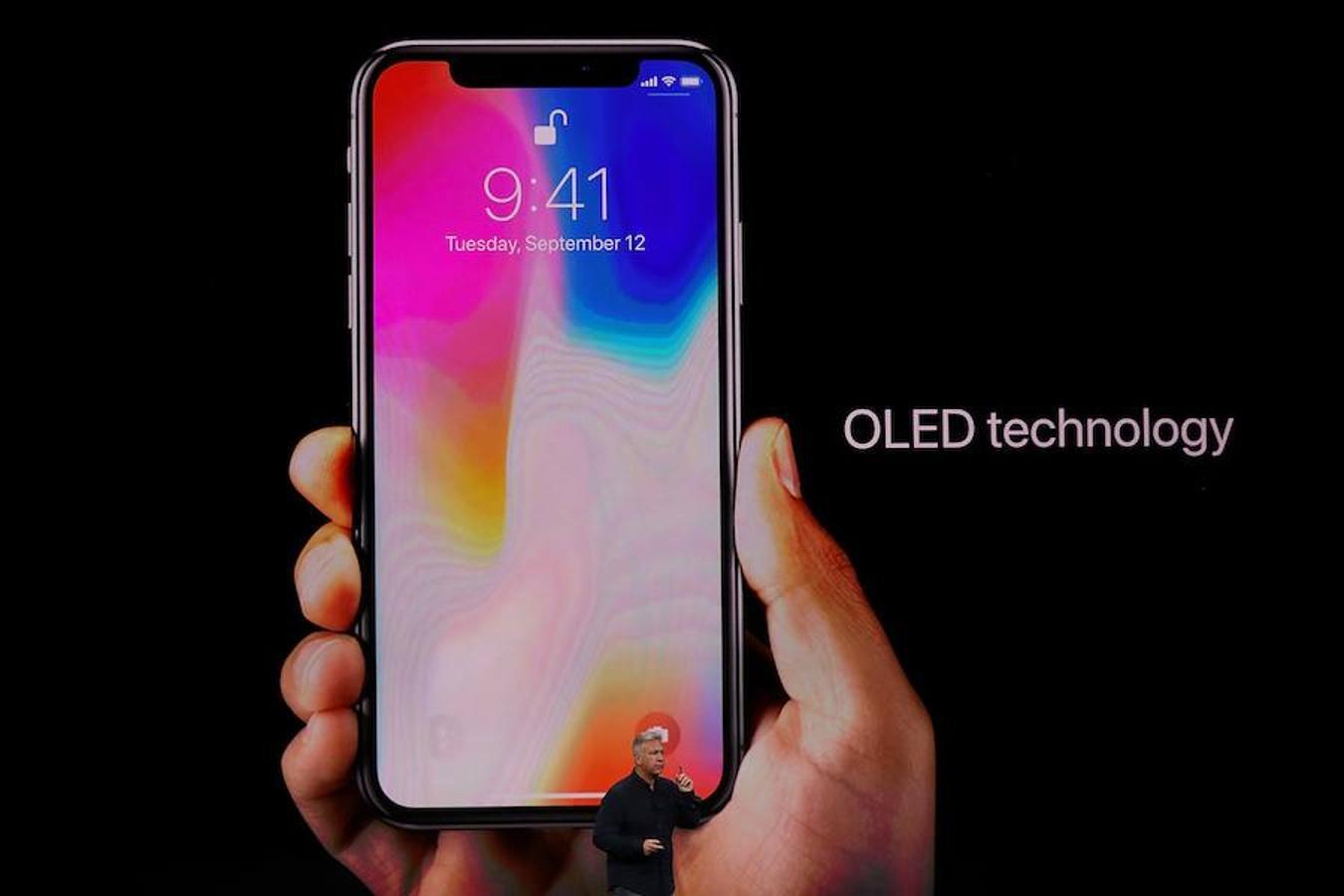 iPhone X cuenta con tecnología OLED