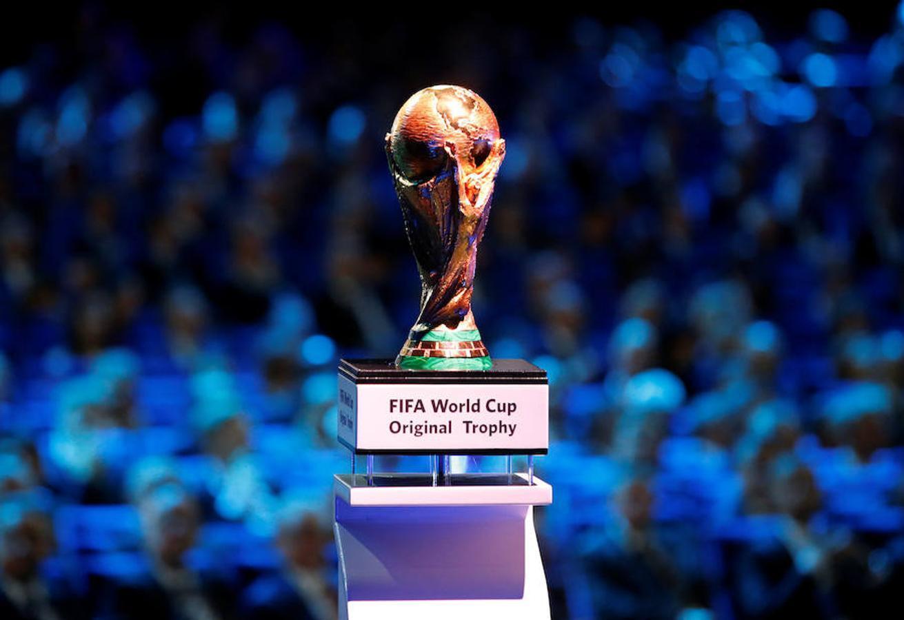 El trofeo original de la Copa del Mundo