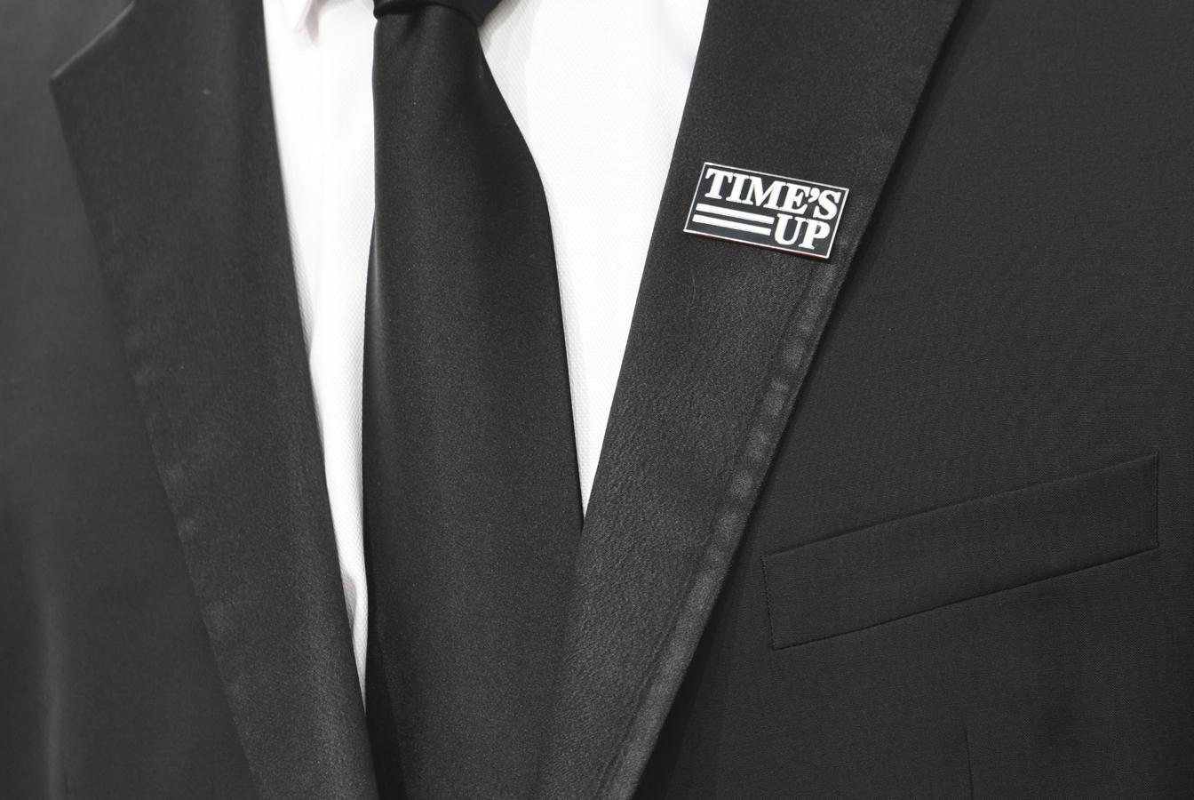 Los Globos de Oro se tiñe de negro para denunciar los abusos bajo el lema «Time's Up», es decir, «Es el momento»