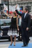 En imágenes: Doña Letizia continúa fiel a Felipe Varela en los Premios Princesa de Asturias
