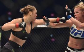 La derrota de Ronda Rousey, en imágenes