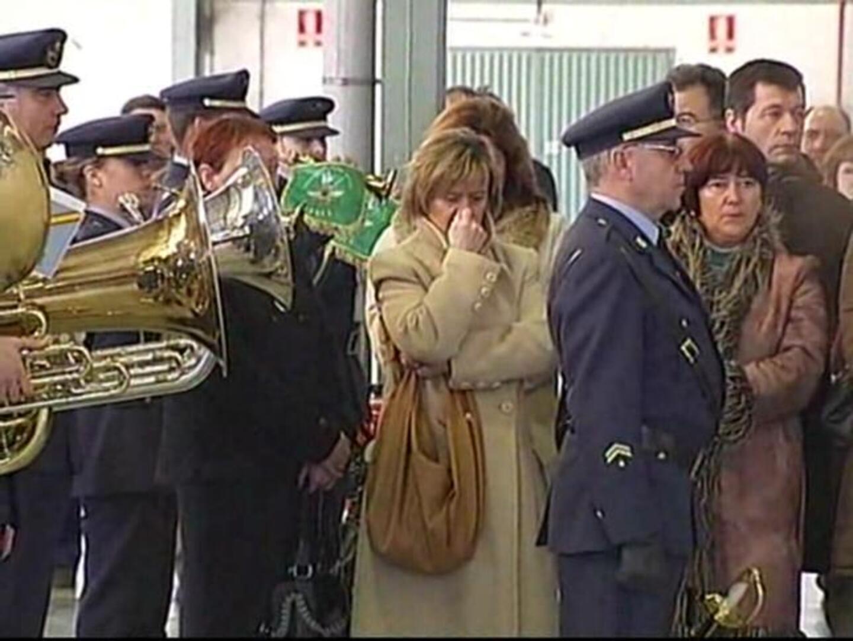 funeral por los tres pilotos fallecidos en albacete