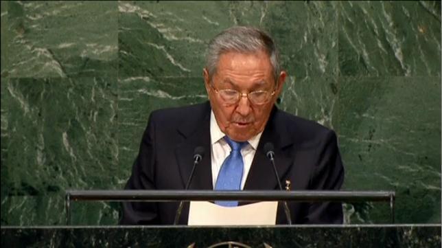 Raúl Castro advierte de que las relaciones con EEUU sólo se normalizarán con el fin del bloqueo