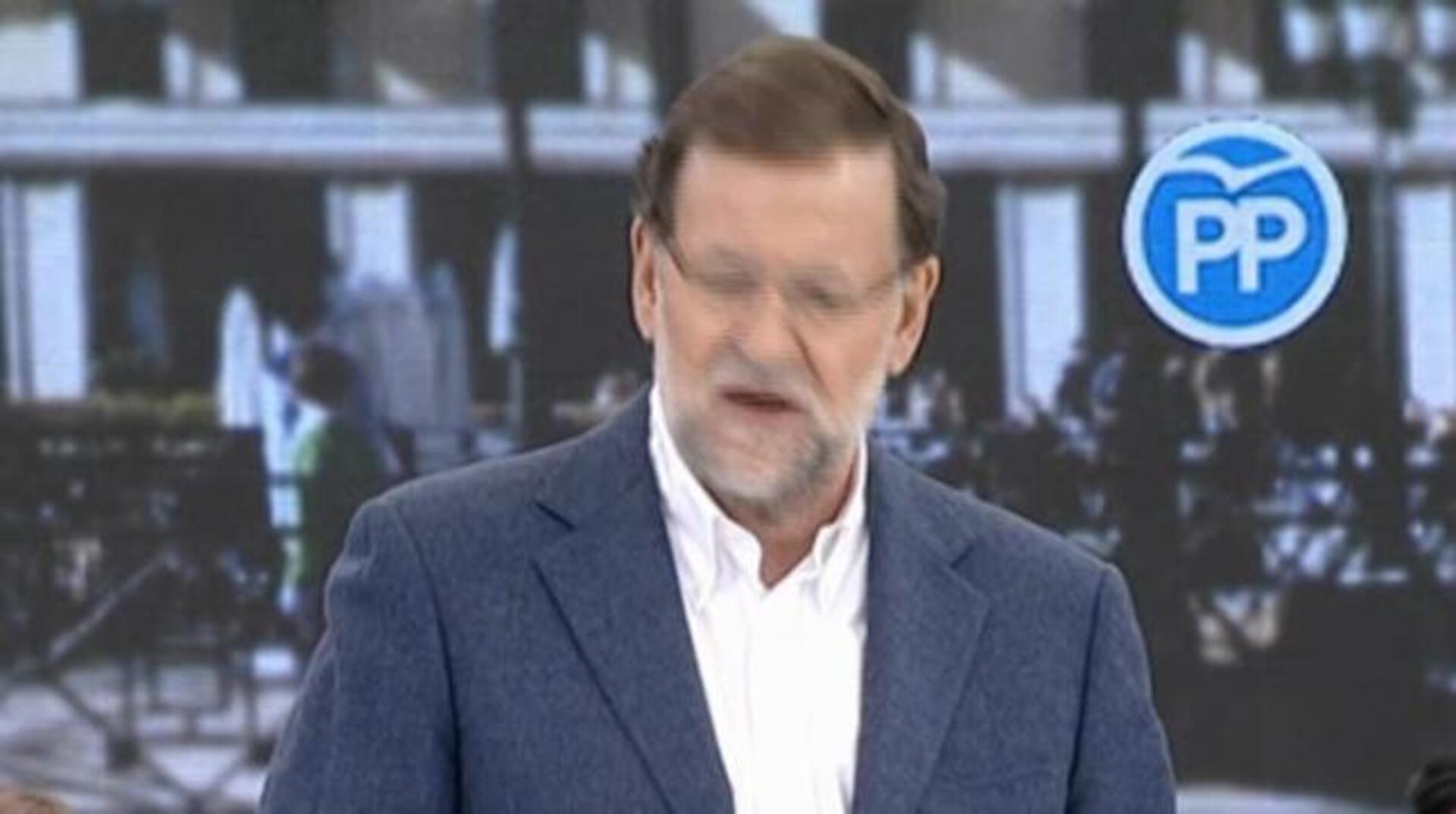 Rajoy abre mitin con recuerdo a policías muertos en Kabul
