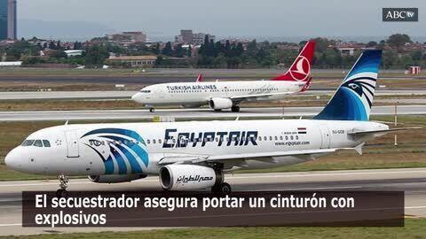 Liberados los pasajeros del avion secuestrado en Egipto