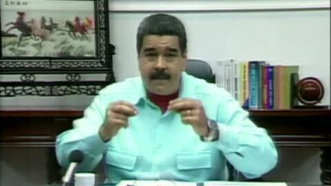 """Maduro anuncia un decreto para levantar la inmunidad parlamentaria en la antesala de la """"Toma de Caracas"""""""