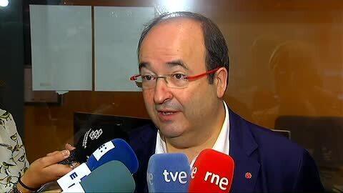 """Iceta: """"Lo que no puede ser es que el PSOE pase a la oposición, que no apoye al PP y no haya terceras elecciones"""""""