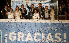 Las caras de la jornada electoral en España