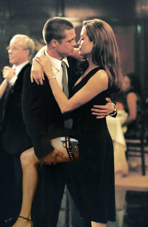 Se conocieron en el 2004, durante el rodaje de Sr&Sra Smith, cuando el actor estaba aún casado con Jennifer Aniston